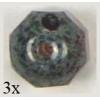 Glass Cut Beads Round 10mm Light Amethyst - Strung